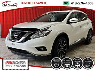 Used 2017 Nissan Murano PLATINE *AWD *TOUT ÉQUIPÉ for sale in Québec, QC