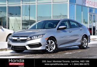 Used 2017 Honda Civic LX AUTO BAS KM AUTO*CRUISE*BLUETOOTH*CAMERA*++ for sale in Lachine, QC
