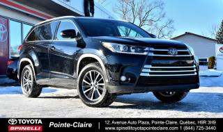 Used 2018 Toyota Highlander XLE AWD GPS, CUIR, MAGS, TOIT for sale in Pointe-Claire, QC