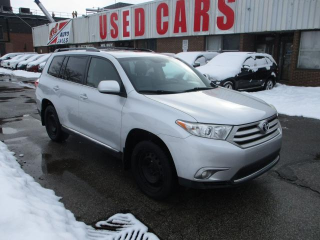 2013 Toyota Highlander XLE ~ LEATHER ~ 7 PASS. ~ WINTER RIMS & TIRES