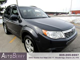 Used 2010 Subaru Forester 2.5X - All Wheel Drive for sale in Woodbridge, ON
