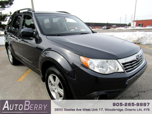 2010 Subaru Forester 2.5X - All Wheel Drive
