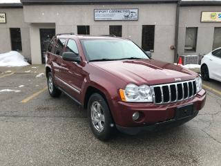 Used 2007 Jeep Grand Cherokee LIMITED,3.0L DIESEL ,NAV,DVD, BACK UP CAMERA for sale in Burlington, ON