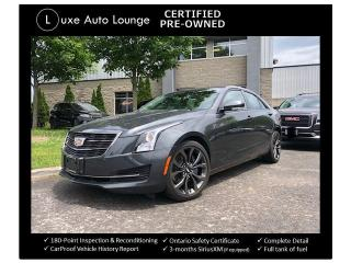 Used 2017 Cadillac ATS Luxury AWD CARBON BLACK PACKAGE, RECARO SEATS! for sale in Orleans, ON