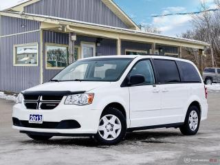 Used 2013 Dodge Grand Caravan SE,ECON,STOW-N-GO,B.TOOTH,USB for sale in Orillia, ON