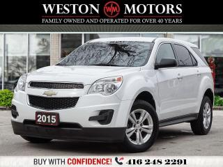 Used 2015 Chevrolet Equinox LS*POWER GROUP*BLUETOOTH*WOW LOW KM!! for sale in Toronto, ON