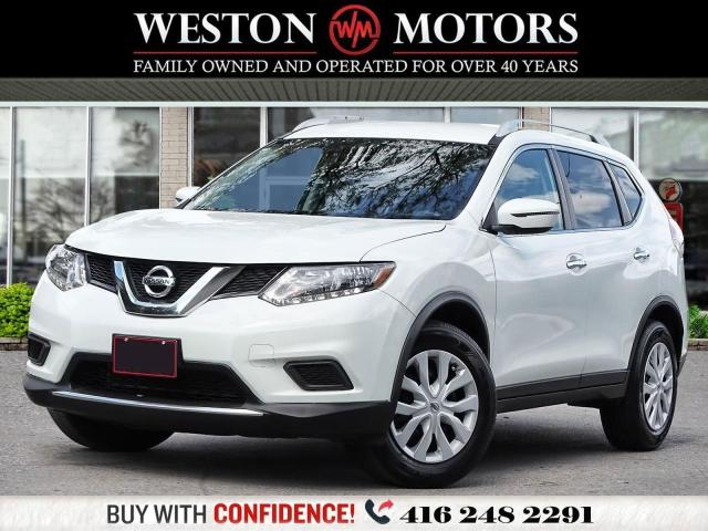 2016 Nissan Rogue S*REVERSE CAMERA*WOW ONLY 81 KMS!
