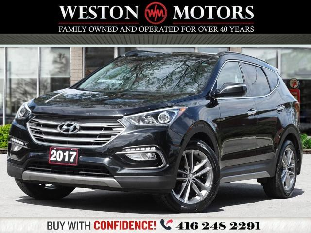 2017 Hyundai Santa Fe Sport 2.0T LIMITED*AWD*REVERSE CAM*LEATHER*SUNROOF*