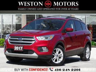 Used 2017 Ford Escape SE*PWR GRP*BTOOTH*NAVI*REVERSE CAM!!* for sale in Toronto, ON