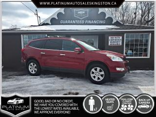 Used 2012 Chevrolet Traverse 1LT for sale in Kingston, ON