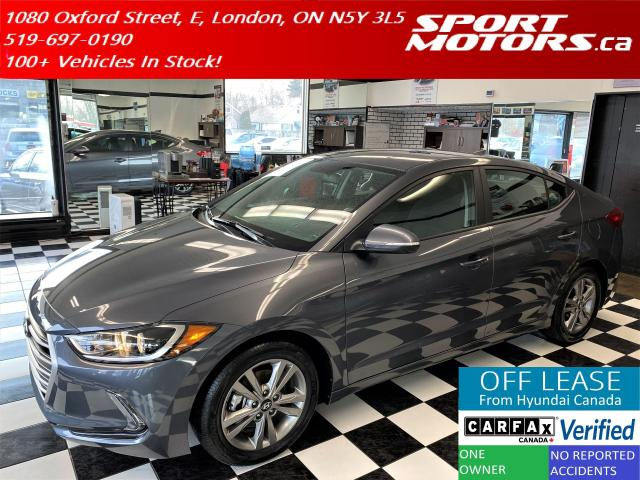 2017 Hyundai Elantra GL+Apple Play+Heated Seats+Camera+AC+Accident Free