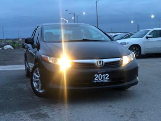 Used 2012 Honda Civic LX 5 SPD MANUAL for sale in Oakville, ON