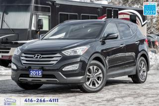 Used 2015 Hyundai Santa Fe Sport Luxury|Leather|Heated Seats|Pano.Roof|Clean Carfax for sale in Bolton, ON