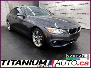 Used 2016 BMW 4 Series GranCoupe+Radar Cruise+Collision Prevention+GPS+XM for sale in London, ON