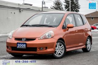 Used 2008 Honda Fit Sport|Manual|Very Low KM|Power Windows|Power Locks for sale in Bolton, ON