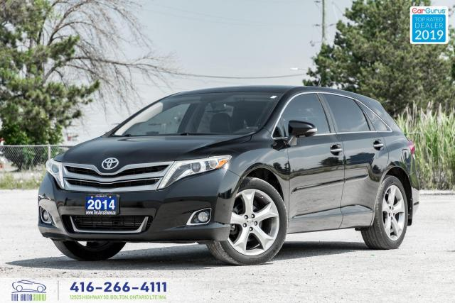 2014 Toyota Venza Limited|AWD|Leather|Sunroof|Navi|Clean Carfax
