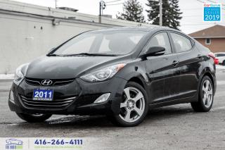 Used 2011 Hyundai Elantra Limited|One Owner|Leather|Clean Carfax|Bluetooth for sale in Bolton, ON