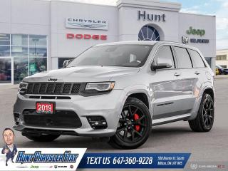 Used 2019 Jeep Grand Cherokee SRT 4x4 | PANO | NAV | 19 SPEAKERS & MORE!!! for sale in Milton, ON