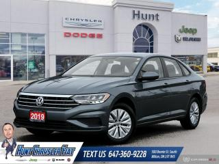 Used 2019 Volkswagen Jetta 1.4 TSI COMFORTLINE | AUTO | HTD STS | BT & MORE!! for sale in Milton, ON