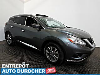 Used 2016 Nissan Murano SL AWD NAVIGATION - TOIT OUVRANT AIR CLIMATISÉ for sale in Laval, QC