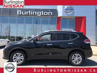 Used 2016 Nissan Rogue SV, AWD, PANORAMA MOONROOF, 1 OWNER ! for sale in Burlington, ON
