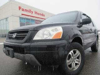 Used 2003 Honda Pilot 4dr 4WD EX Auto w-Leather | ROOF RACKS!! | for sale in Brampton, ON