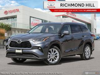 New 2020 Toyota Highlander Limited  - Leather Seats - $200.53 /Wk for sale in Richmond Hill, ON