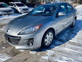 Used 2013 Mazda MAZDA3 4dr Sdn GS-SKY,auto, leather, sunroof, 2 sets of tires for sale in Halton Hills, ON