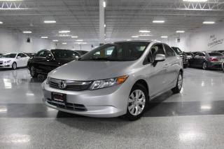 Used 2012 Honda Civic LX I MANUAL I POWER OPTIONS I CRUISE I BLUETOOTH for sale in Mississauga, ON