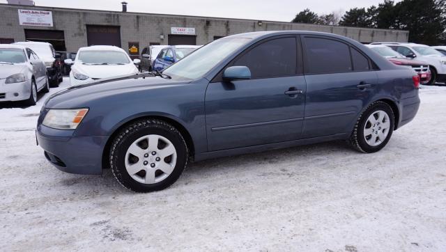 2009 Hyundai Sonata GLS CERTIFIED 2YR WARRANTY *2ND SET TIRES ON RIMS* HEATED SEATS CRUISE AUX