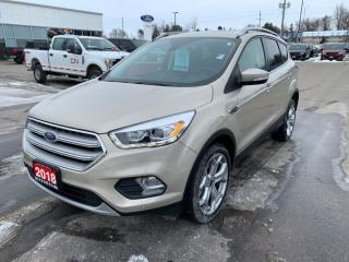 Used 2018 Ford Escape Titanium  - One owner - Local for sale in Woodstock, ON