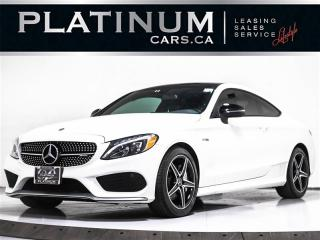 Used 2017 Mercedes-Benz C-Class AMG C43 COUPE AWD 4MATIC, PANO, BLINDSPOT, CAM for sale in Toronto, ON