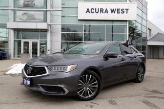 Used 2018 Acura TLX SH-AWD w/Technology Package Only 12525kms!!! for sale in London, ON