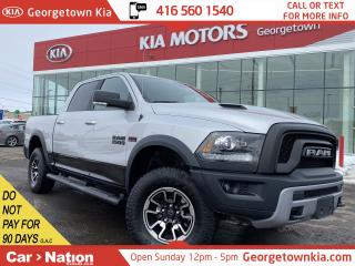 Used 2017 RAM 1500 Rebel | CREW CAB | 4X4 | V8 | B/U CAM |  LEATHER for sale in Georgetown, ON