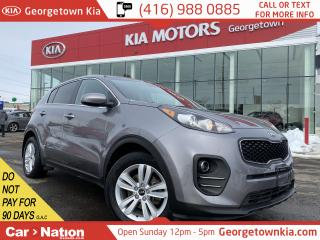 Used 2017 Kia Sportage 1 OWNER|CLEAN CARFAX|B/UP CAM|ALLOYS|B/T| for sale in Georgetown, ON