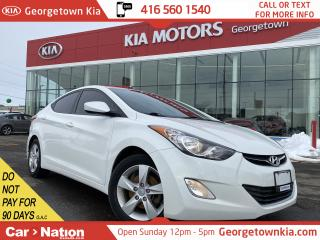 Used 2013 Hyundai Elantra GLS | SUNROOF | HEATED SEATS | BLUETOOTH | for sale in Georgetown, ON