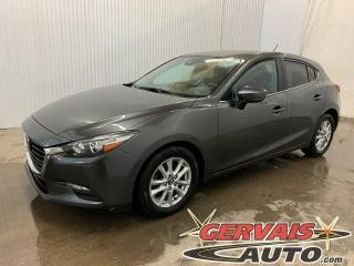 Used 2018 Mazda MAZDA3 GS Sport GPS Caméra Volant chauffant Mags Hatchback for sale in Trois-Rivières, QC