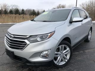 Used 2018 Chevrolet Equinox PREMIER 2.0T AWD for sale in Cayuga, ON