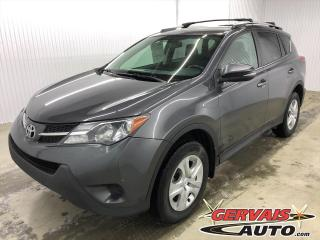 Used 2015 Toyota RAV4 LE AWD MAGS CAMÉRA DE RECUL SIÈGES CHAUFFANTS for sale in Shawinigan, QC