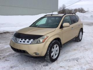 Used 2004 Nissan Murano 4 portes SL, traction intégrale, boîte a for sale in Quebec, QC