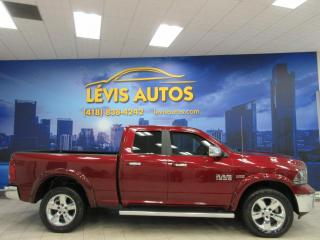 Used 2017 RAM 1500 BIG HORN 5.7L HEMI 4X4 8 VITESSES BANC/V for sale in Lévis, QC