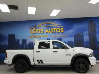 Used 2018 RAM 1500 CREW-CAB V6 AUTOMATIQUE 8 RAPPORTS 4X4 8 for sale in Lévis, QC