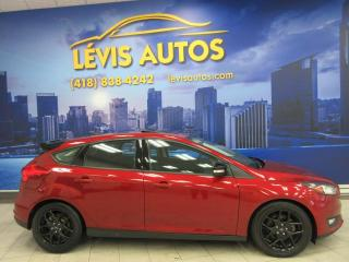 Used 2016 Ford Focus SE BLACK EDITION AUTOMATIQUE 84300KM TOU for sale in Lévis, QC