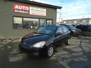 Used 2010 Hyundai Accent GS for sale in St-Hubert, QC