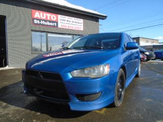 Used 2012 Mitsubishi Lancer SE for sale in St-Hubert, QC