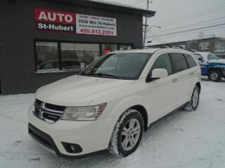 Used 2012 Dodge Journey R/T AWD ** 7 PLACES ** for sale in St-Hubert, QC