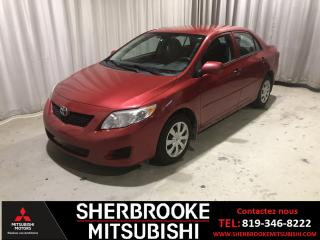 Used 2010 Toyota Corolla Berline 4 portes,  automatique, CE for sale in Sherbrooke, QC