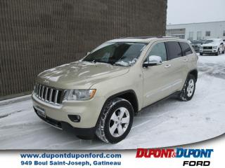 Used 2011 Jeep Grand Cherokee 4 RM 4 portes Overland for sale in Gatineau, QC