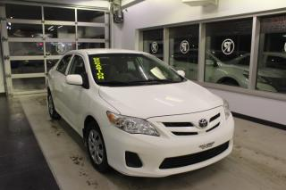 Used 2013 Toyota Corolla Berline 4 portes, boîte manuelle, CE for sale in Lévis, QC