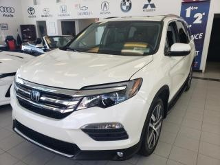 Used 2016 Honda Pilot TOURING / CUIR / GPS / CAMERA / TOIT PAN for sale in Sherbrooke, QC
